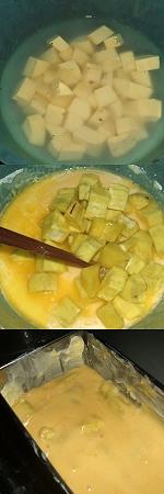 薩摩芋のつぶつぶケーキ(さつまいものつぶつぶけーき)